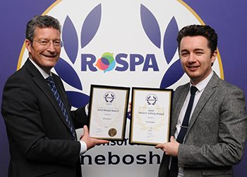 KA Leisure wins double gold at RoSPA Awards